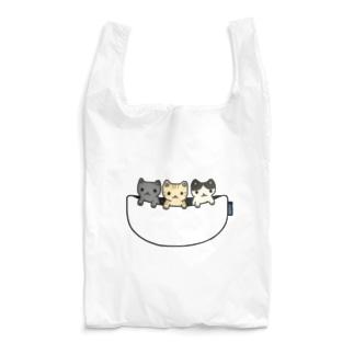 猫たち専用ポケット Reusable Bag