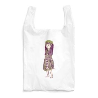【タイの人々】モン族の女の子 Reusable Bag