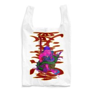 客(百)足が増える 商売繁盛Ver. Reusable Bag