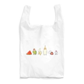 鳥と食べ物 Reusable Bag