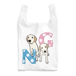 ラブラドールレトリーバーの「G」と「N」 Reusable Bag