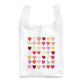 ハートがいっぱい Reusable Bag