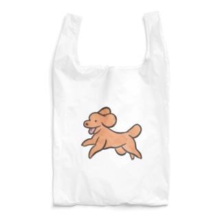 走る!トイプードル Reusable Bag