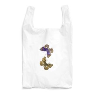 国蝶「オオムラサキ」ペア Reusable Bag