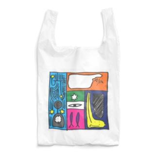 同じ時間に起きていること Reusable Bag