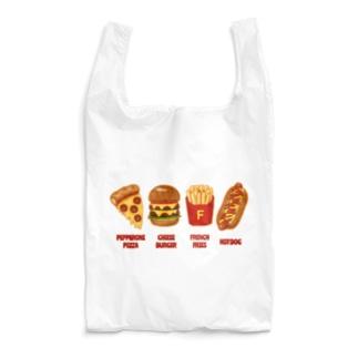 ジャンクフード コンボ Reusable Bag