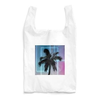 ネオン椰子 Reusable Bag