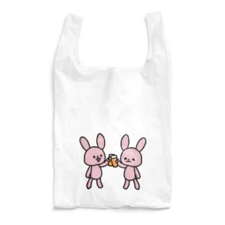 かんぱいうさ Reusable Bag