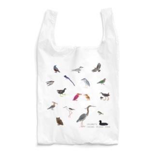 しまのなかま鳥類16(正方形展開) Reusable Bag