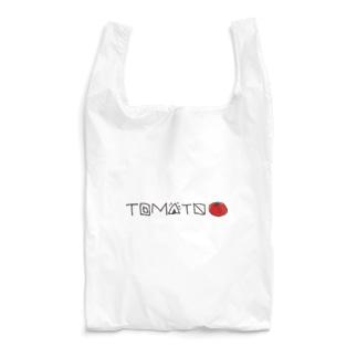 TOMATO-黒字 Reusable Bag