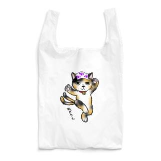 踊る三河 ねこまた 三毛 Reusable Bag
