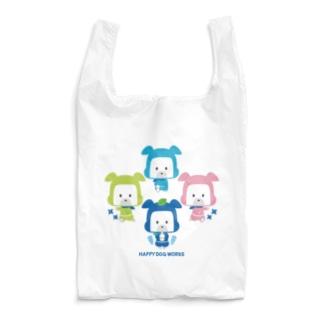 忍者犬たろうくん_集合A Reusable Bag
