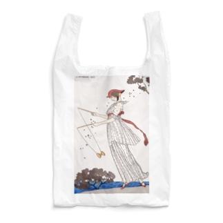 リネンのドレス Robe de linon imprimé(1913) Reusable Bag