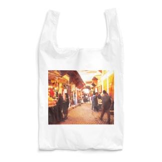 モロッコ:フェズ旧市街の商店 Morocco: Shops in old Fez / Fès Reusable Bag