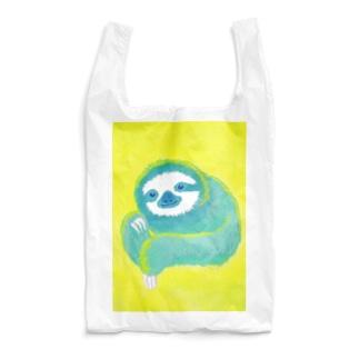 ナマケモノ3(アクリル画) Reusable Bag