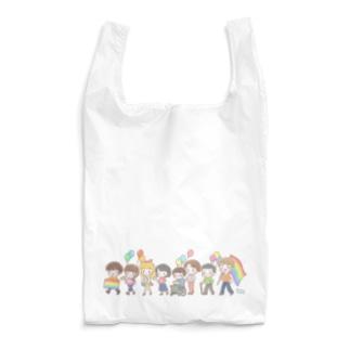 【Rainbow】パレード Reusable Bag