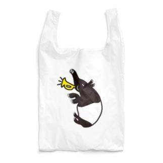 楽しいマレーバクの「3バクトリオ」シリーズ Reusable Bag