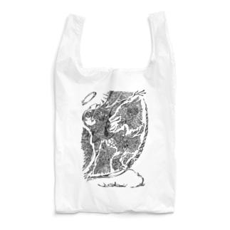 踊る (Black) Reusable Bag