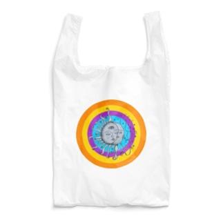 太陽と月(ヒッピーver) Reusable Bag