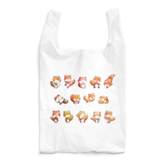 [ りすのくうざえもん×14 ] Reusable Bag