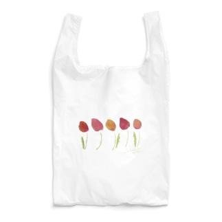 sakusaku tulips Reusable Bag