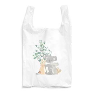 ema-emama『hug you』 Reusable Bag