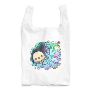 海の中のアマビエ Reusable Bag
