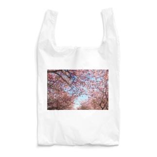 桜に恋して Reusable Bag