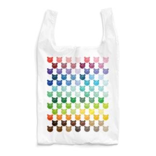 色とりどりウゲロくま85色 Reusable Bag