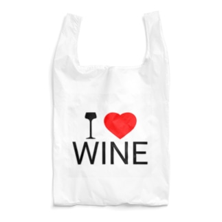 I LOVE WINE Reusable Bag