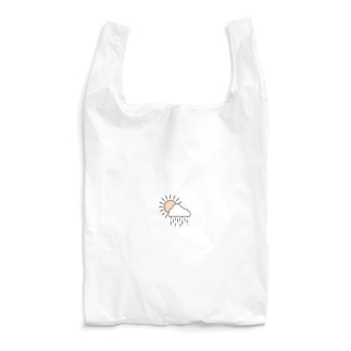 空模様ロゴ(色付きver.) Reusable Bag