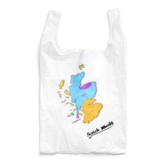 Scotch Whisky's  map (カラーver) Reusable Bag