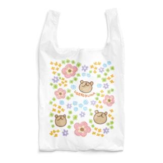 ウゲロくまとお花畑 Reusable Bag