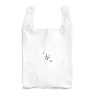 雪模様 Reusable Bag