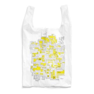 手書き迷路 Reusable Bag