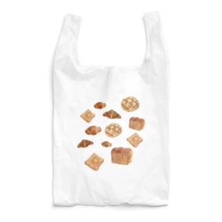 羊毛フェルトのフワフワパン屋さん Reusable Bag
