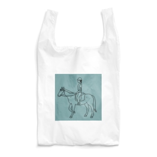 馬のいる日常 Reusable Bag
