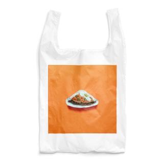 目玉焼きのせ鉄板ナポリタン Reusable Bag