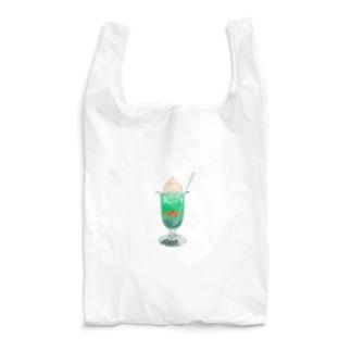 あの日のクリームソーダ Reusable Bag