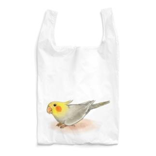 オカメインコ レキ【まめるりはことり】 Reusable Bag