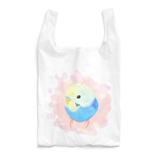 まるまるセキセイインコ【まめるりはことり】 Reusable Bag