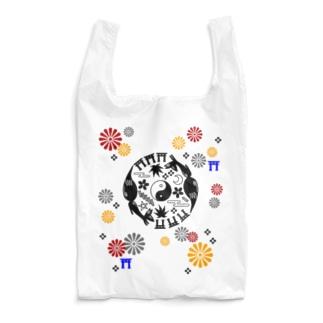 狐丸紋柄 Reusable Bag