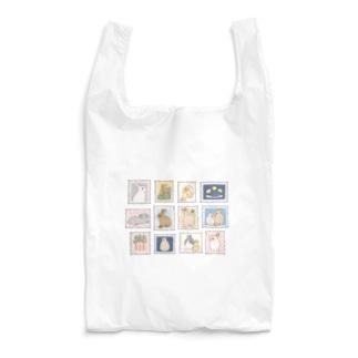 切手風うさぎさん Reusable Bag