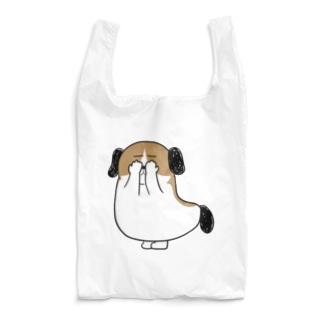 もじゃまる目隠し Reusable Bag
