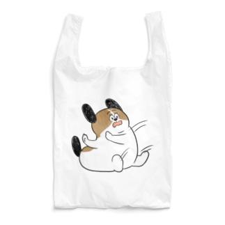 もじゃまるしりもち Reusable Bag