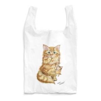 すももちゃん Reusable Bag