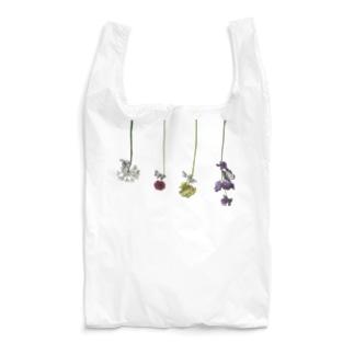 花と虫 Reusable Bag