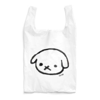 Chepe915のしろのめぇめぇ(こいぬ) Reusable Bag