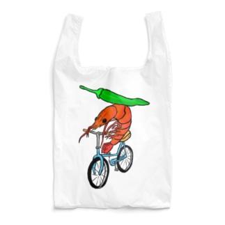 海老サイクリング青唐辛子添え Reusable Bag