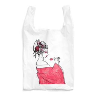 SWEET&SPICY 【すいすぱ】の花魁ダーツガール🎯 Reusable Bag